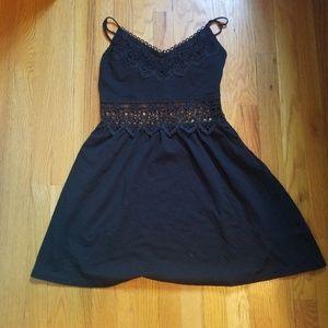Topshop cutout center dress